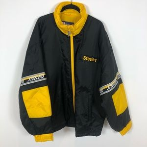 Vintage Pro Player Pittsburgh Steelers Jacket